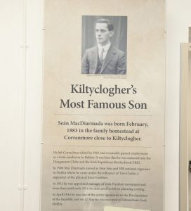 Kiltyclogher's Most Famous Son