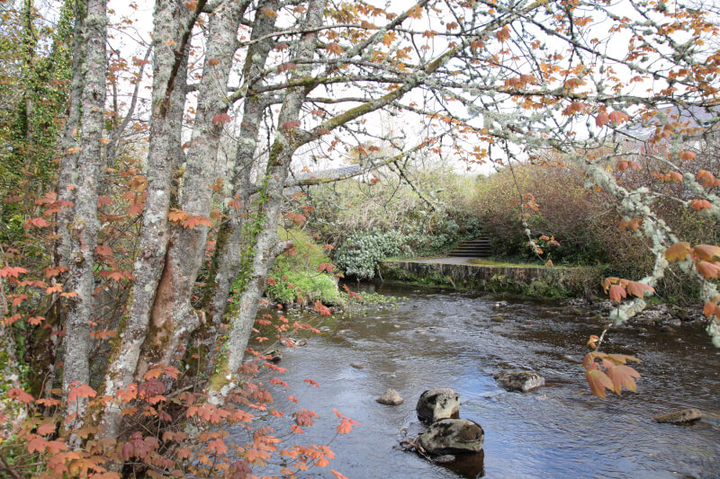 The River running through Garrison Co Fermanagh and into Lough Melvin.