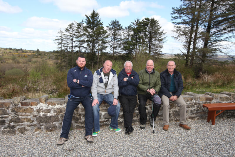Regular visitors from Dublin staying at Kiltyclogher Holiday Centre