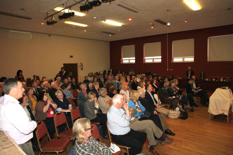 Audience at the opening of the 2015 Sean MacDiarmada Summer School in Kiltyclogher Co Leitrim