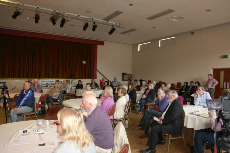 Audience at the 2015 Sean MacDiarmada Summer School in Kiltyclogher Co Leitrim