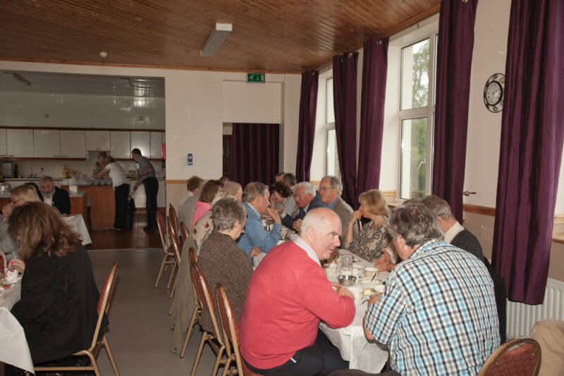 Lunch time at the Sean MacDiarmada Summer School Kiltyclogher Co Leitrim