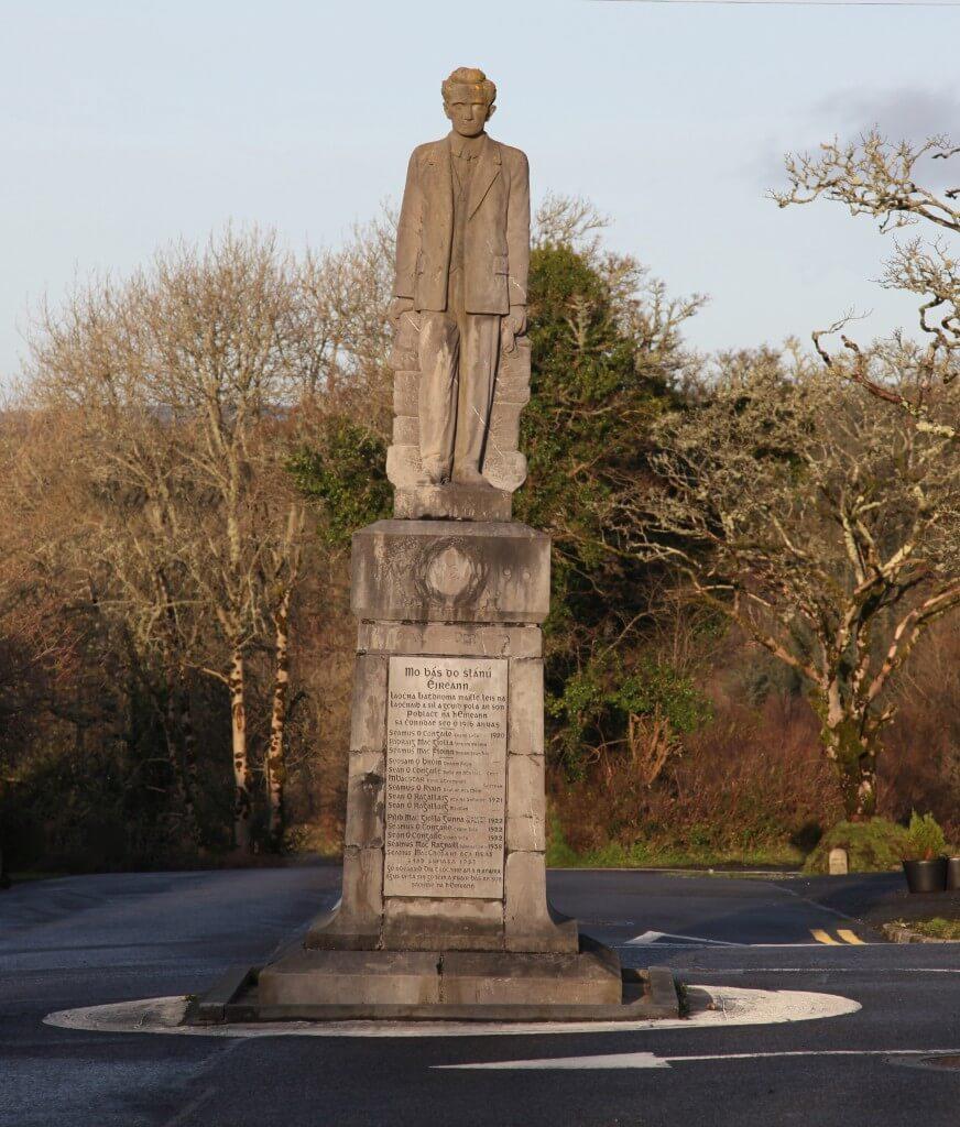 Monument to Sean McDermott Kiltyclogher Co Leitrim