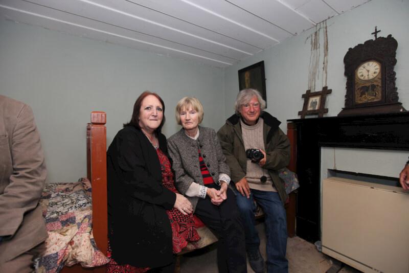 Family members in Seán MacDiarmada's house Kiltyclogher Co Leitrim
