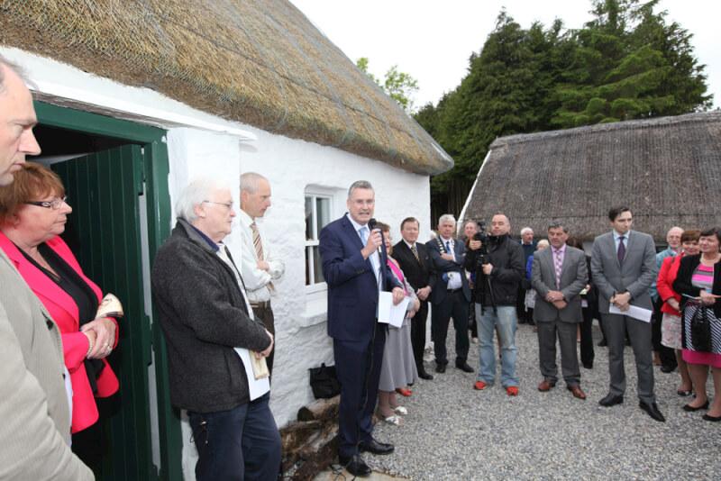 Frank Curran CEO Leitrim Co. Co. speaking at Seán MacDiarmada Summer School Kiltyclogher