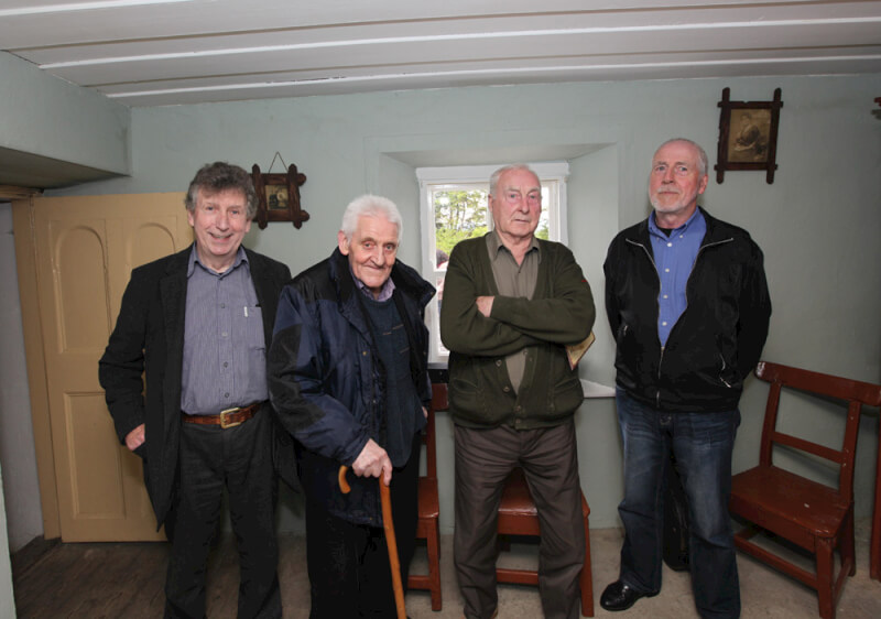 Musicians who played in Seán MacDiarmada's house in Kiltyclogher Co Leitrim