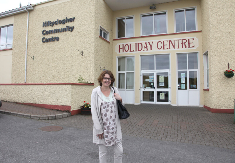 Susan McKay at Sean MacDiarmada Summer School Kiltyclogher Co Leitrim
