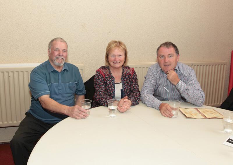 Jim Dillon and Seamus Shanley at Sean MacDiarmada Summer School in Kiltyclogher Co Leitrim