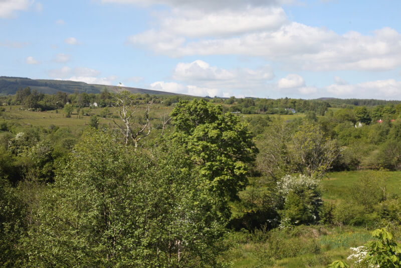 View from Kiltyclogher Holiday Centre